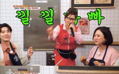 """둘째이모 김다비, 열창 중 치마 벗겨져 """"노이즈 마케팅 아냐"""""""