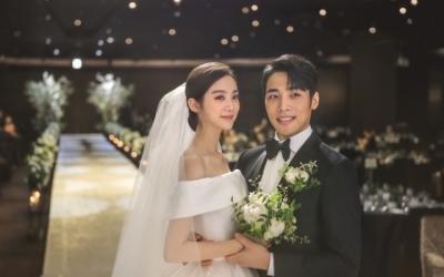 혜림♥신민철, 결혼 본식 사진 공개…선남선녀 부부