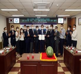'프리미엄 고창수박'…'커피빈' 전국 300개 매장에서 판매