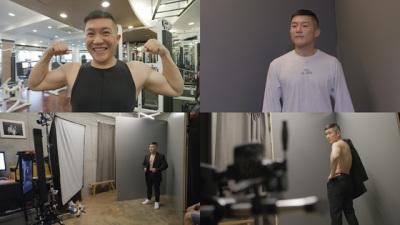 [N컷] '온앤오프' 조세호, 17kg 감량 성공→바디 프로필 촬영 중 '눈물'