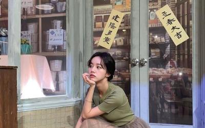 [N샷] 혜리, 시스루에 드러난 각선미…'귀여움과 섹시함 사이'