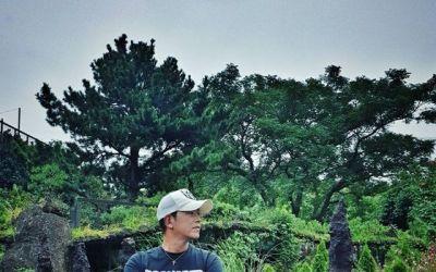 [N샷] 류시원, 재혼 후 근황 공개…탄탄 근육질 몸매