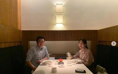 """[N샷] 이지혜, 결혼 3주년 맞아 남편과 '달달한' 저녁 """"고가의 외식"""""""