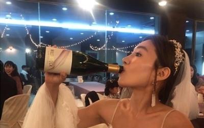 """하얀 드레스에 병나발 부는 최희서…""""우리 남편 살았잖아, 오예"""""""