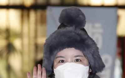 '5년 입국 금지 만료' 에이미, 한국 왔다…'공손히 인사'