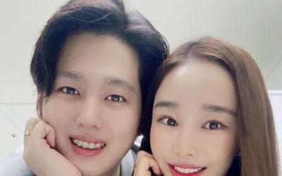 "[N샷] '11세 연상연하' 이사강♥론, 결혼 2주년에 달달 투샷…""최고의 선물"""