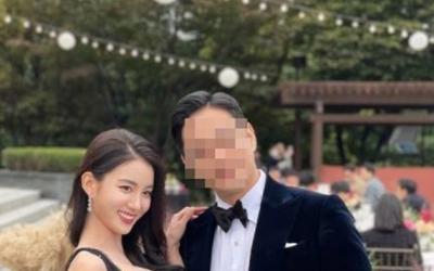 """""""이제 빼박 유부녀""""…타히티 출신 지수, 늘씬한 웨딩드레스 자태 공개"""