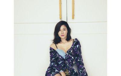 '청순미 대명사' 김하늘, 파격 란제리 화보…44세의 도발적 섹시미 [N샷]