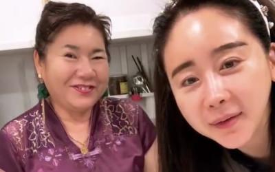 함소원, 남편 진화와 불화설 극복 이어 시어머니 '마마'와도 행복 일상 공개