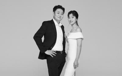 정재용, 31㎏ 감량 성공…19세 연하 아내와 깜짝 웨딩화보