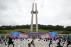 구름낀 하늘 아래 진행되는 41주년 5·18 기념식