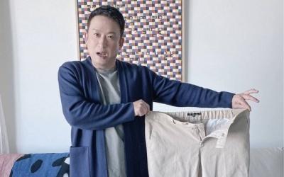 """'22㎏ 감량' 서경석, 1년 전 입은 바지 보고 깜짝 """"돌아가지 않으리"""""""