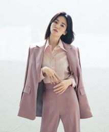 송혜교, 역시 분위기 여신…정장 패션으로 단아함 폭발 [N화보]