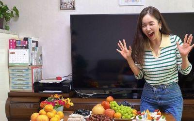 """장영란, 시댁서 받은 진수성찬 생일상에 감격 눈물 """"행복한 며느리"""" [N샷]"""