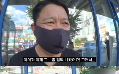 """김구라, 둘째 출산 바로 못밝힌 이유 """"조산으로 두달 인큐베이터에"""""""