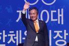 이기흥 후보, 제41대 대한체육회장 '당선'…연임 성공(종합)