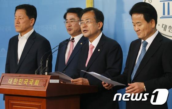 """국민의당 """"K타워-미르재단, 이젠 청와대가 답할때"""""""