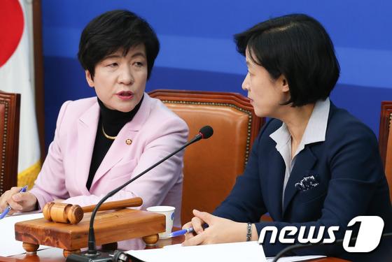 추미애-김영주 \'탄핵 논의\'
