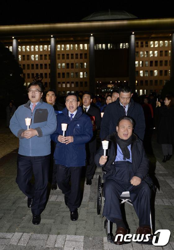 민주당 \'박근혜 대통령 탄핵해야\'