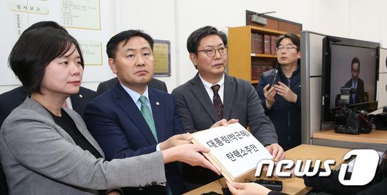 야3당, 3일 박근혜 대통령 탄핵안 발의