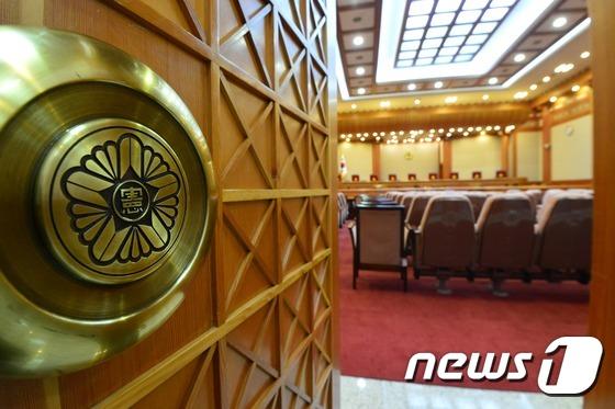 탄핵심판 시작 앞둔 헌법재판소