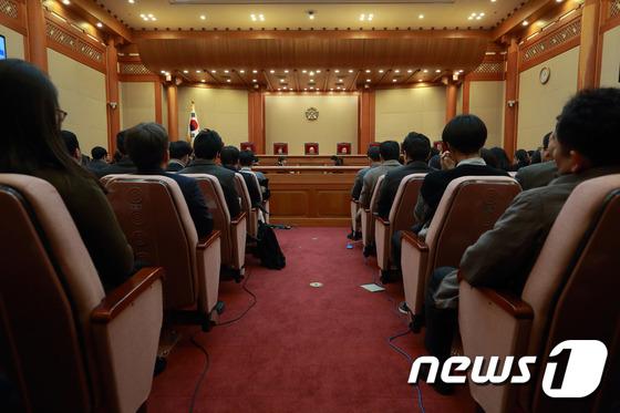 탄핵심판 첫 공개변론