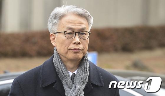 정현식 전 K스포츠재단 사무총장, 탄핵 심판 출석