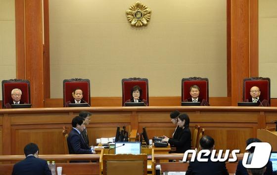 박근혜 대통령 탄핵심판 제11차 공개변론