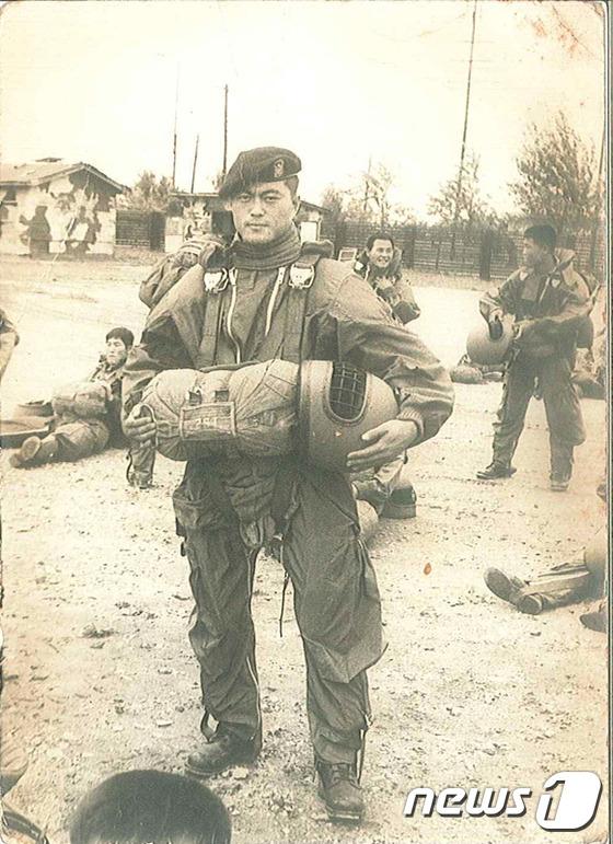 특전사 군 복무 시절 문재인 후보