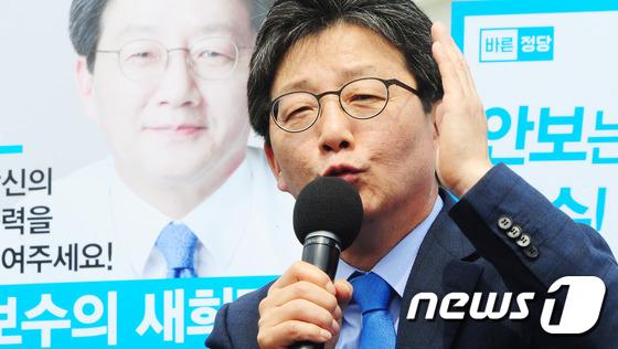 유승민 제주서 지지호소