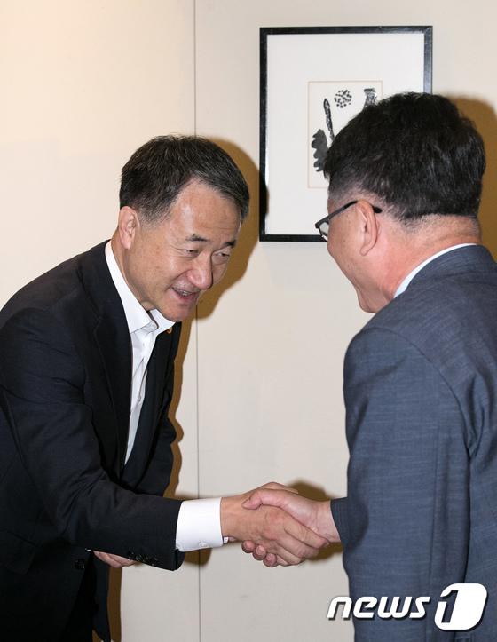 한국인 원폭피해자 지원 위원회 참석한 박능후 장관