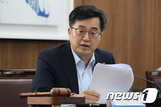 발언하는 김동연 부총리 겸 기획재정부 장관