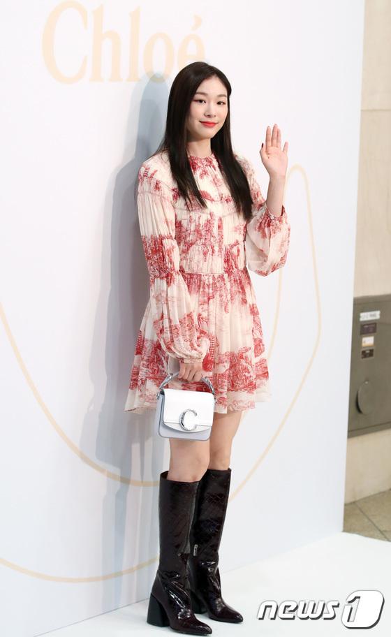 김연아, 여왕의 품격있는 미소