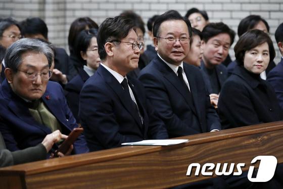 \'민주주의자 김근태\' 8주기 추도미사