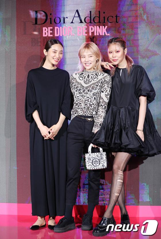 곽지영-송해나-안아름, 한 자리에 모인 톱 모델