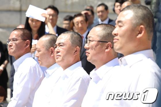 자유한국당 '삭발투쟁'