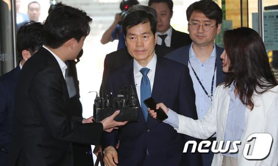삼성바이오 김태한 대표 영장심사