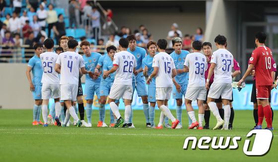 대구-수원 '오늘은 0-0 무승부'