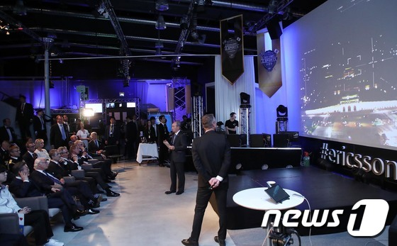 KT, 한국-스웨덴 연결하는 '5G 고품질 영상 전송' 시연