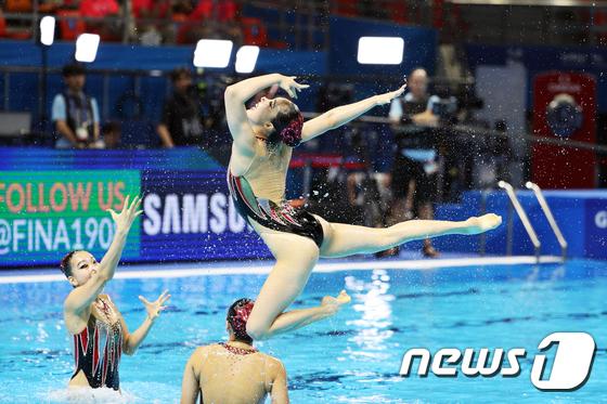 대한민국 선수들의 멋진 연기