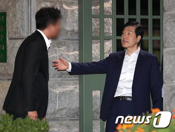 '분식회계 의혹' 김태한 대표, 구속영장 기각