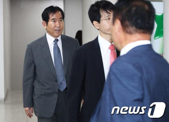 법정 향하는 조현오 전 경찰청장