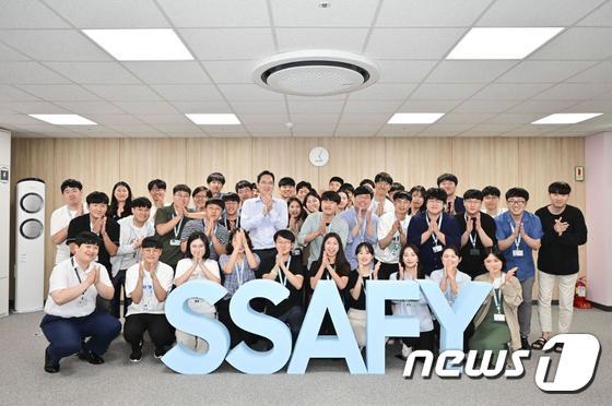 이재용 부회장 '소프트웨어아카데미 광주 교육센터 방문'