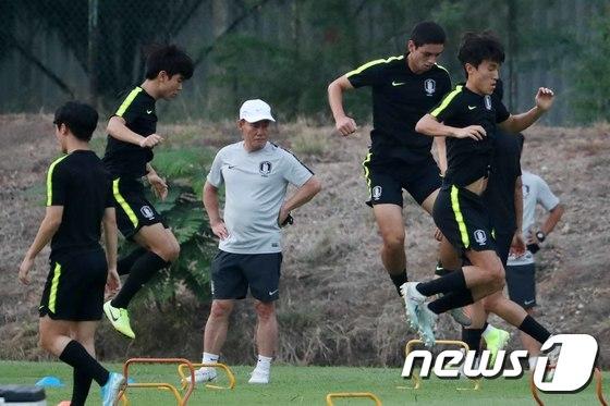 '펄펄 나는 U-23 대표팀'