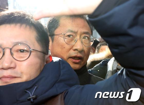 김명환 1심 선고…징역 2년6월·집행유예 4년