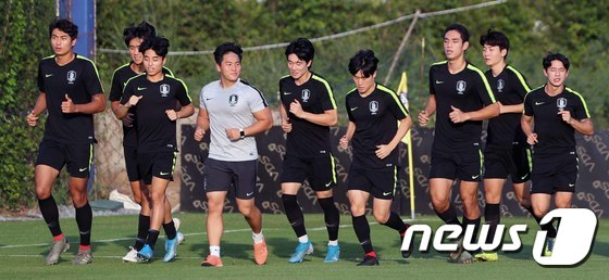 결승전만 남겨놓은 대한민국 U-23 대표팀