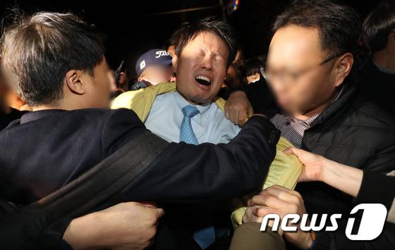 \'우한 교민 수용\' 진천 찾았다가 봉변당한 복지부 차관