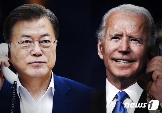 문 대통령, 새 미국 정부 출범으로 평화 프로세스 재개 … '싱가포르 선언'의 출발점