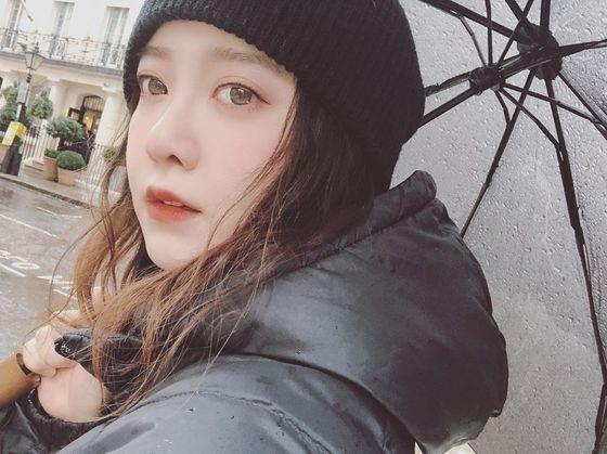 """'어학연수' 구혜선 """"런던서 본 '기생충' 관객 정말 많았다"""""""