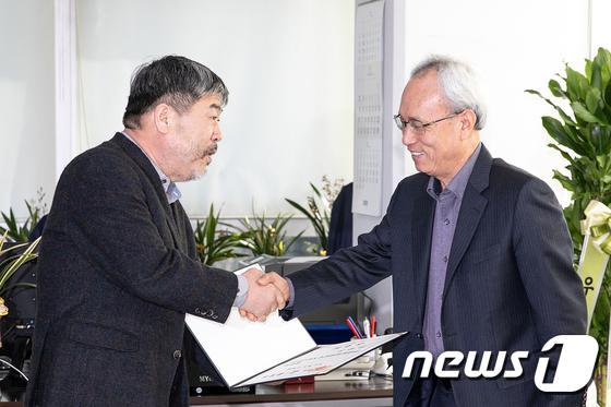 손 잡은 한국노총과 경사노위
